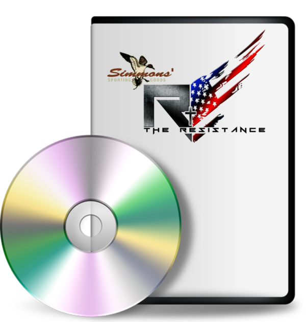 dvd with logo